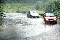 Opět prší. Týden po ničivé povodni v Libereckém kraji.