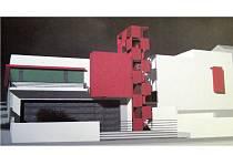 Takto by měly vypadat spojené budovy stanic HZS LK a SDH Tanvald Šumburk. Studie ARK spol. s r.o. Ing. arch. Pavel Janoušek a Ing. arch. Boris Šonský