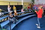 Členové Dětského pěveckého sboru Vrabčáci z Jablonce nad Nisou měli soustředění.