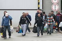 Amnestie, ilustrační snímek z propuštění vězňů