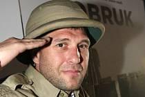Herec Petr Halberstadt z filmu Tobruk