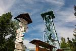 Slovanka, nejstarší železná rozhledna v Česku nacházející se u osady Hrabětice na Jablonecku slaví 130 let od otevření.