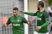 Michal Trávník zúročil penaltu v zápase FK Jablonec - Ostrava. A musel ji kopat nadvakrát. Vítězství 2:0 upevnilo čtvrté místo Jabloneckých v tabulce FORTUNA LIGY.