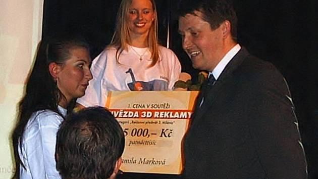 Cenu převzal jednatel společnosti Style Bohemia Martin Balatka.