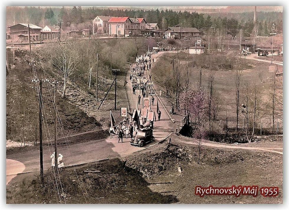Oslavy 1. května na Jablonecku.
