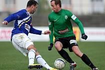 První zápas osmifinále Poháru České pošty: FK Ústí nad Labem - Baumit Jablonec 1:7 (1:3).