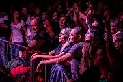 Pop-funková kapela Monkey Business odehrála 20. října v jabloneckém Eurocentru koncert v rámci Maximum Power Tour 2018. Na snímku je zpěvák Matěj Ruppert.