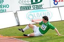 FK Baumit Jablonec vs SK Dynamo České Budějovice 2:0. Václav Černý, který ve svém 3. ligovém startu vstřelil svou první ligovou branku.