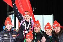 Gabriela Soukalová ve vytrvalostním závodě na Mistrovství světa vybojovala stříbro.