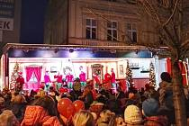 Vánoční kamión v Železném Brodě