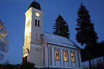 Kostel v Loučné