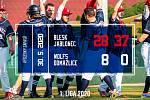 Jablonecký Blesk odstartoval konečně sezónu. A hned z prvního dvojutkání na hřišti soupeře si přivezl dvě výhry. O víkendu se představí domácím fanouškům.