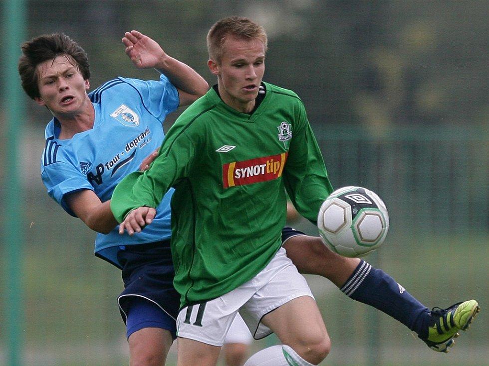 Dorostenci Baumitu Jablonec porazili Nový Bydžov a vedou Českou ligu dorostu U19.