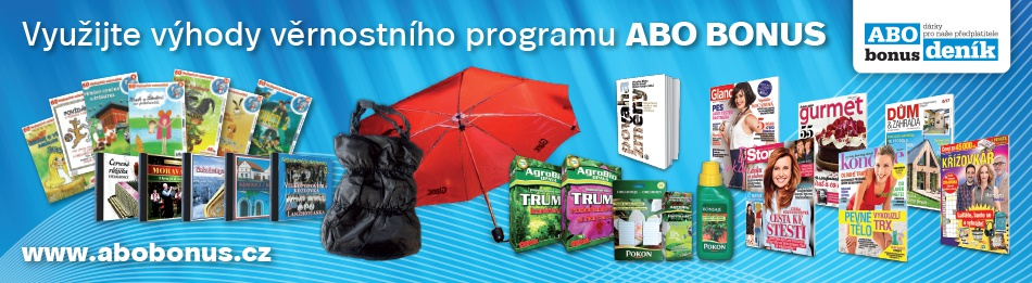 Využijte výhody věrnostního programu ABO BONUS