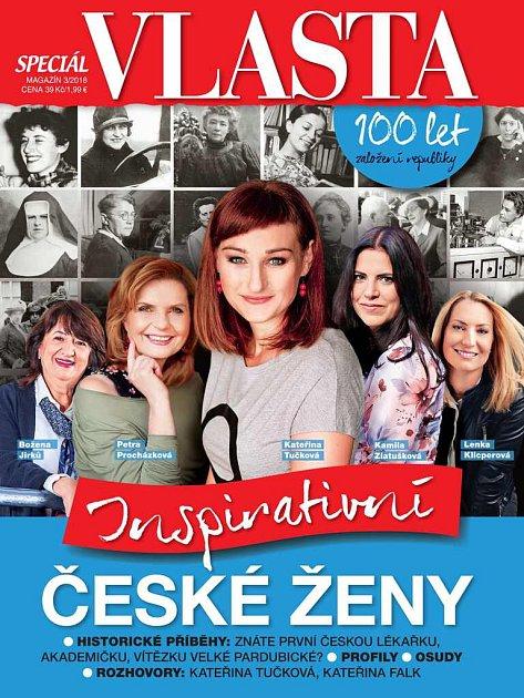 speciál Vlasta Inspirativní české ženy
