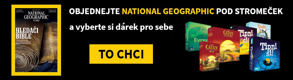 National Geographic s dárkem navíc
