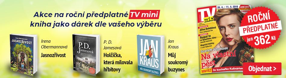 Akce na roční předplatné TV mini
