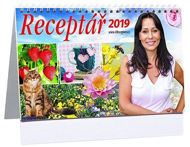 Receptář kalendář 2019