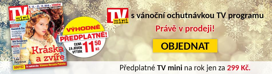 TVmini s vánoční ochutnávkou TV programu