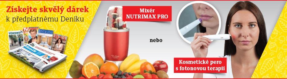 Mixér Nutrimax Pro, kosmetické pero