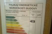 Energetický štítek Ministerstva průmyslu a obchodu