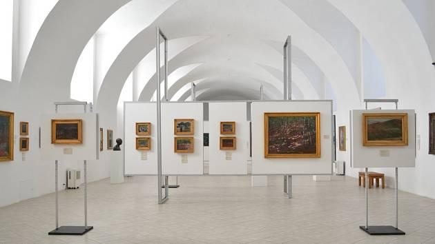 Stálá expozice roudnické galerie dnes.