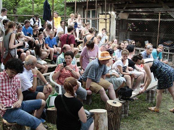 Mladí herci na divadelním festivalu vRoudnici nad Labem nelenili.