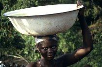 V Libérii je to podobné jako v Ghaně. Voda je vzácná.