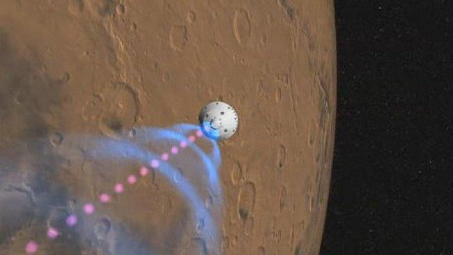 VIDEO: Tak viděla přistání na Marsu Curiosity