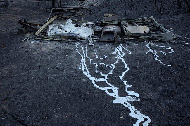 V Texasu požáry každoročně způsobují velké škody.