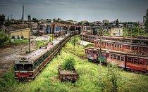 Opuštěné depo v Čenstochové, Polsko