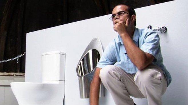 Záchod budoucnosti podle Billa Gatese: s vodíkovým článkem a solárním panelem