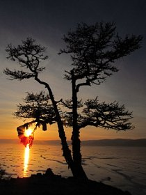 Večer nad Bajkalem