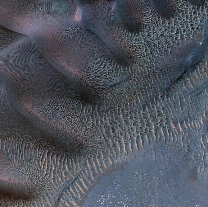 Duny na Marsu