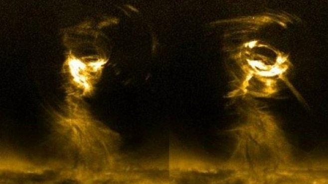 Astronomové natočili gigantické sluneční tornádo