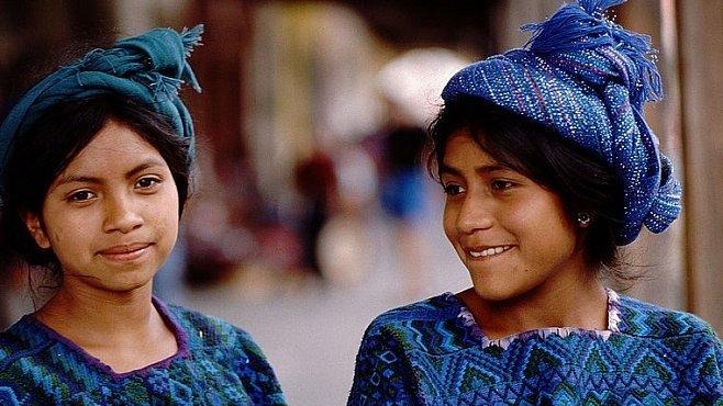 Jak se slaví konec světa: Guatemala oslavila poslední měsíc před koncem mayského kalendáře