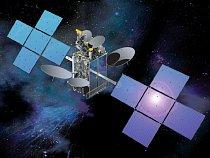3D model družice SES NSS-12