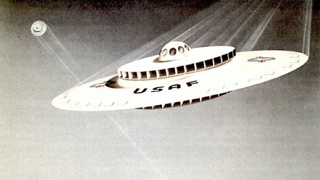 Americká armáda stavěla létající talíř, ukazují odtajněné dokumenty