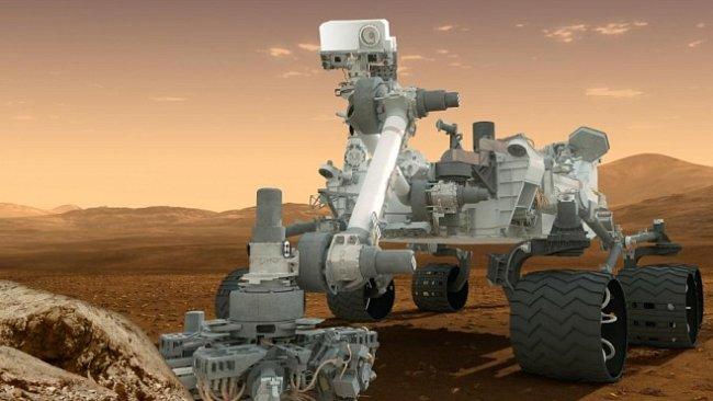 Sonda Curiosity odebrala první vzorek navrtaný pod povrchem Marsu. Už ho zkoumá laboratoř