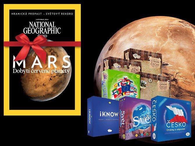 Získejte k předplatnému National Geographic dárek, který rozšíří vaše znalosti.