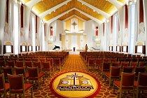 Velká kaple v kostele v Cincinnati (USA) byla nedávno zrestaurována.