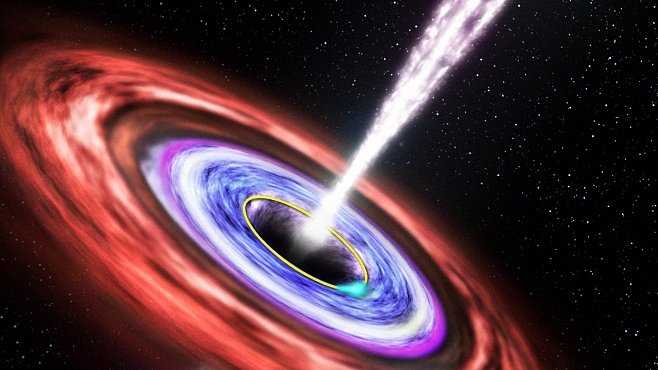 Pláč umírajících hvězd. Jak vypadá pohlcení hvězdy supermasivní černou dírou?