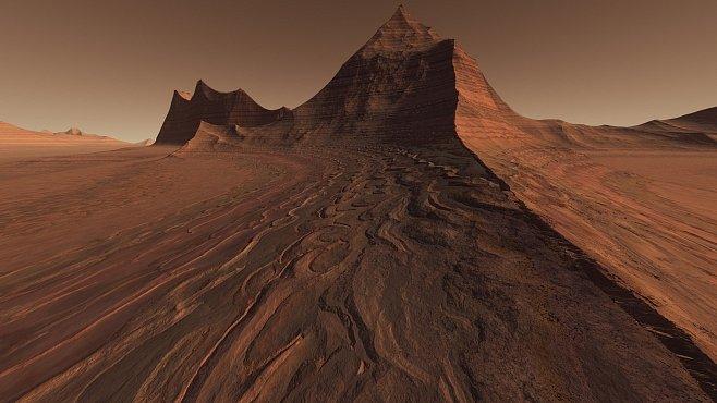 Unikátní meteorit z Marsu obsahuje 10krát více vody, než je běžné. Co to znamená?