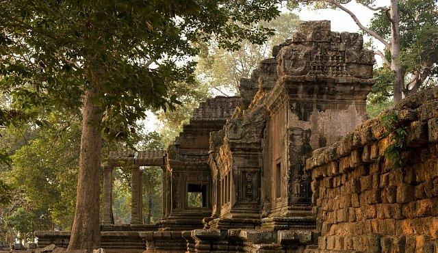 Zánik magického Angkor Vatu prý způsobilo sucho