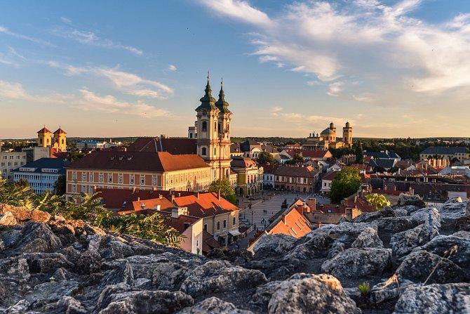 Eger je jedno znejkrásnějších maďarských měst.