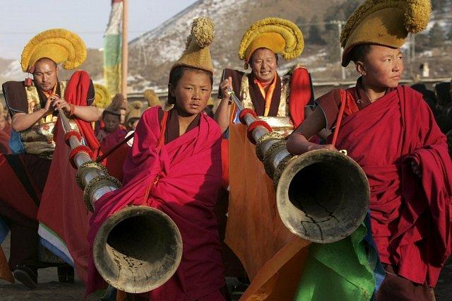 Tibetské náboženské slavnosti