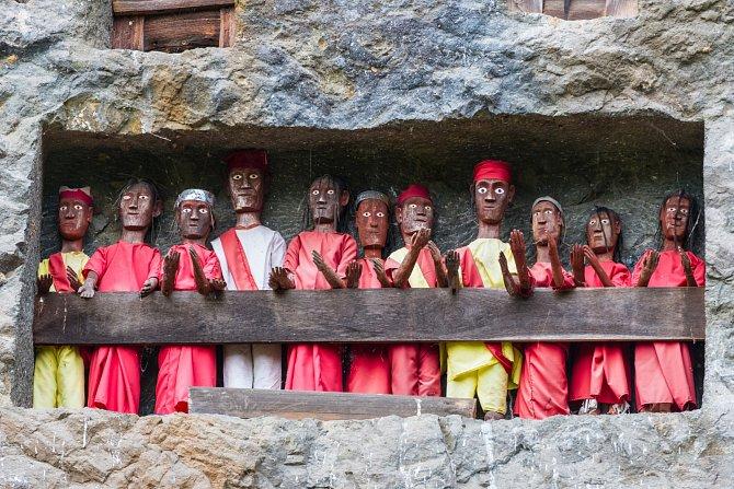 Kultura kmenů na Sulawesi je specifická a pro Evropany v mnohém překvapivá, zejména způsobem uchovávání mrtvých a pohřebními rituály.