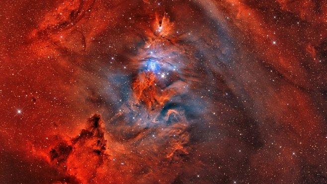 Jednorožec je nejkrásnější souhvězdí oblohy. Ale jen s pořádným dalekohledem