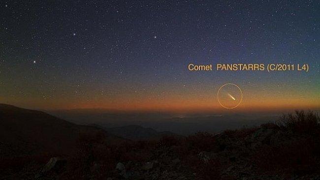 Kometa Pan-STARRS se přibližuje k Zemi. Od čtvrtka ji můžete vidět na obloze