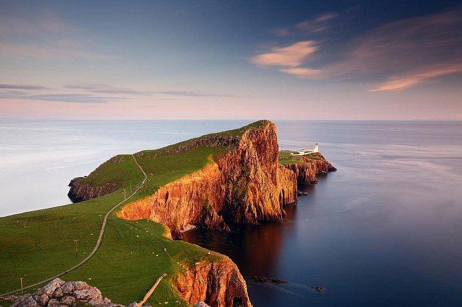 Skotský ostrov Skye